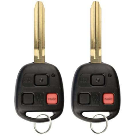 2 key fob keyless entry remote for toyota land cruiser fj