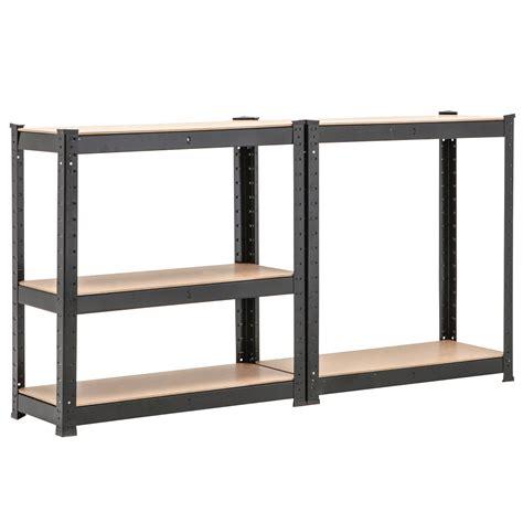 bn 5 tier heavy duty boltless metal shelving storage unit