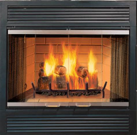 Majestic Fireplaces by Majestic Sr Sovereign Wood Burning Fireplace Modern