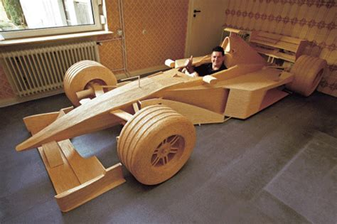How To Make A F1 Car Out Of Paper - 9 awesome replicas made of wood tutzone
