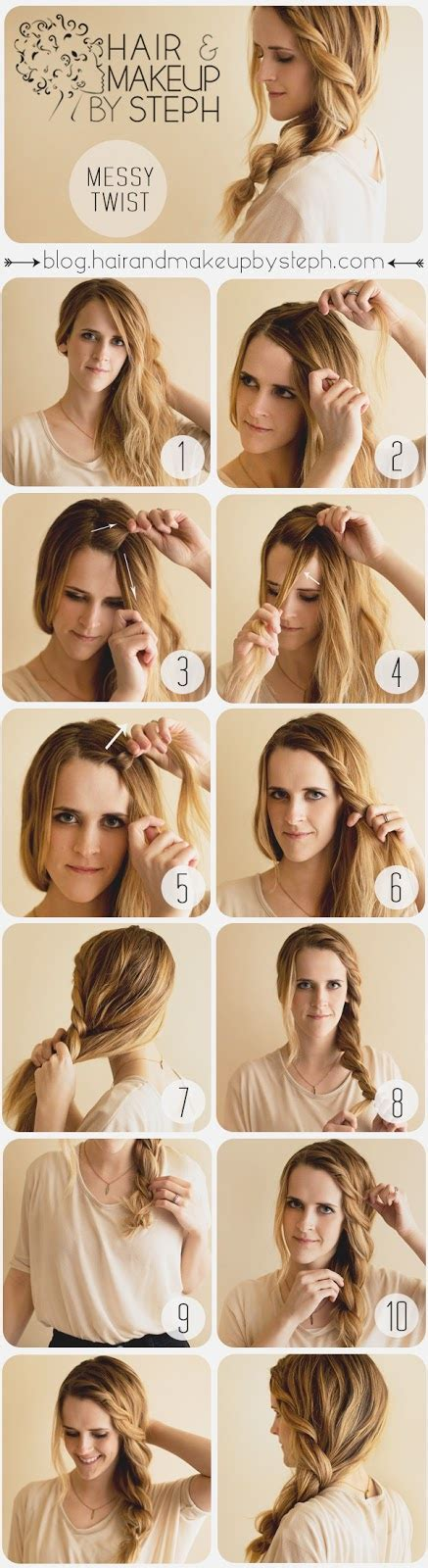 style ideas 20 cute and easy hairstyle ideas and tutorials style
