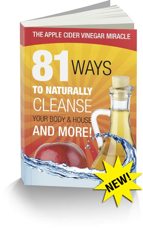 Detox Drink Book by The Alternative Daily Special Report Apple Cider Vinegar