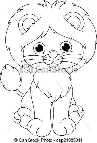 little lion coloring pages lion with cub coloring pages freecoloring4u com