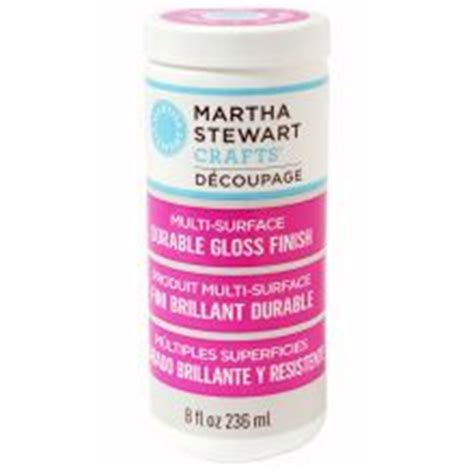 Martha Stewart Decoupage Glue - mod podge clear acrylic sealer matte to be crafts and
