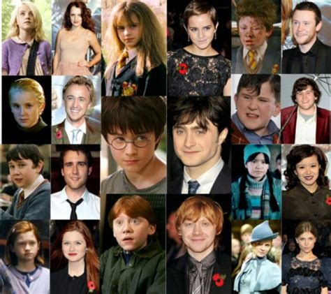 after cast harry potter cast before and after www imgkid the