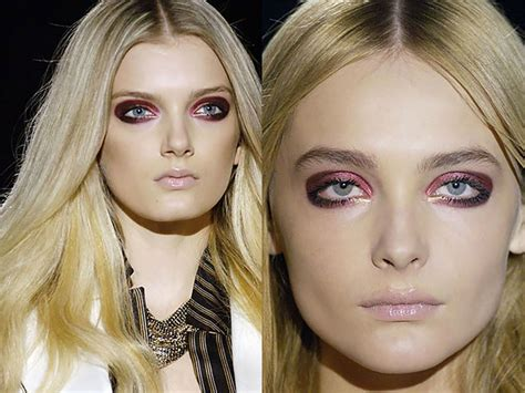 Fashion Find Purple Accessory For Fall 2006 by 2006 Fall Winter Makeup Trend Bold Makeup For