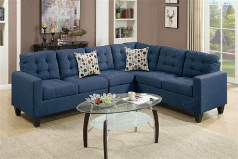 Blue Fabric Sectional Sofa Steal A Sofa Furniture Outlet Sectional Sofa Blue