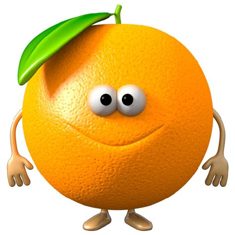 Wandtattoo Kinderzimmer Orange by Apfelsine