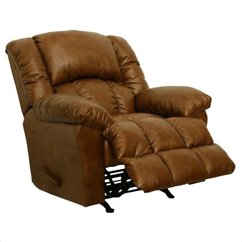 leather chaise recliner catnapper winchester bonded leather chaise rocker recliner
