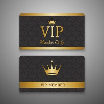 Vip Card Template Free by Privilege Vectors Photos And Psd Files Free