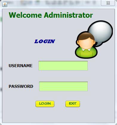 membuat form login java dengan mysql membuat form login koneksi java dengan mysql