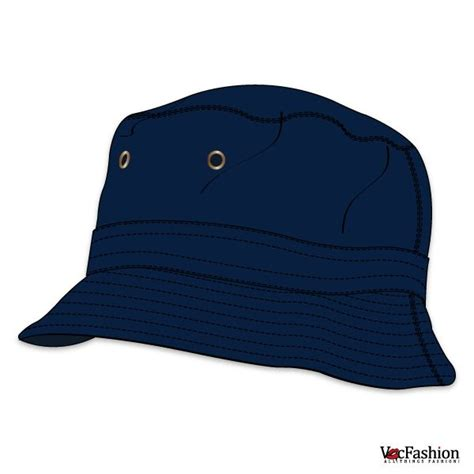 18 hat template vector images bucket hat template