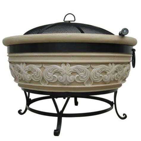 home depot firepits fireside escapes magnesia wings pit mw1317