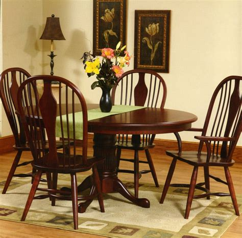 amish dining room set amish traditional dining