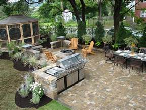 Kitchen Backyard Design 20 Outdoor Kitchens And Grilling Stations Outdoor Spaces Patio Ideas Decks Gardens Hgtv