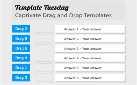 template tuesday captivate drag and drop templates