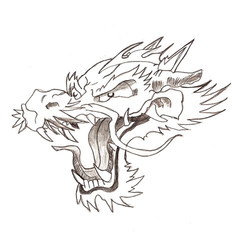 dragon head tattoo designs japanese for by flegmaucigasa on deviantart