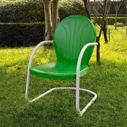 retro metal outdoor chairs green white outdoor metal retro vintage style chair patio