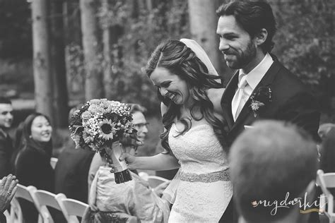 Wedding Photographers Arbor by Rustic Fall Wedding In The Woods Arbor Wedding