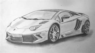 Drawing Of A Lamborghini Sourcewing Lamborghini Aventador Pencil Drawing