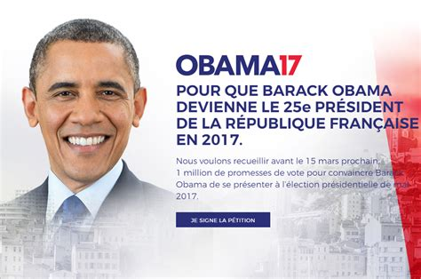 barack obama biography in french french voters call on barack obama to run in country s