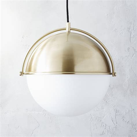 Globe Pendant Light Fixtures Globe Pendant Light Cb2