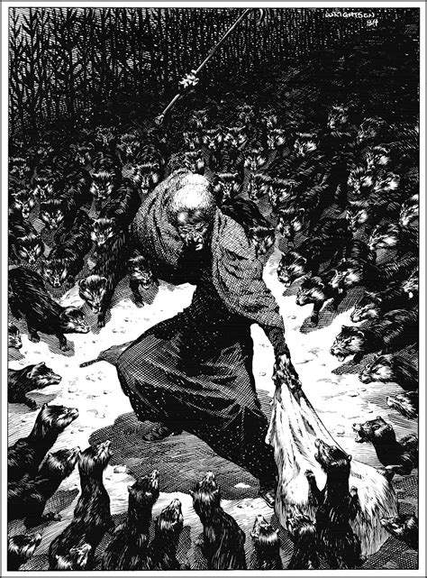 The macabre illustrations of Bernie Wrightson - Nerd Reactor