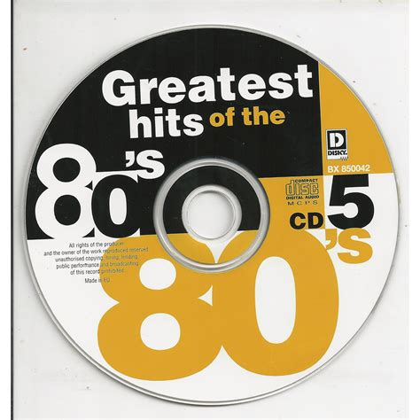 80s house music hits greatest hits of the 80 s cd5 mp3 buy full tracklist
