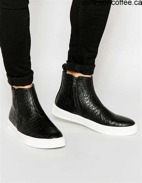 A Zip Code For Shoes by Shoes Coupon Code S Asos Zip Boots In Black With