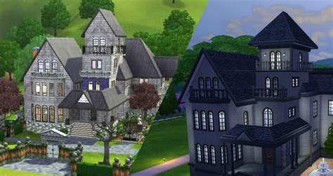 Victorian Manor Floor Plans by The Sims 4 Building Challenge Goths Manor Sims Online