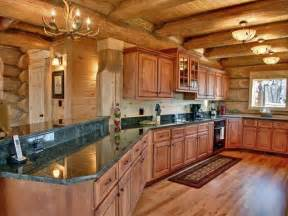 Log Cabin Kitchen Designs Log Cabin Kitchen Kitchen Room Ideas Pinterest