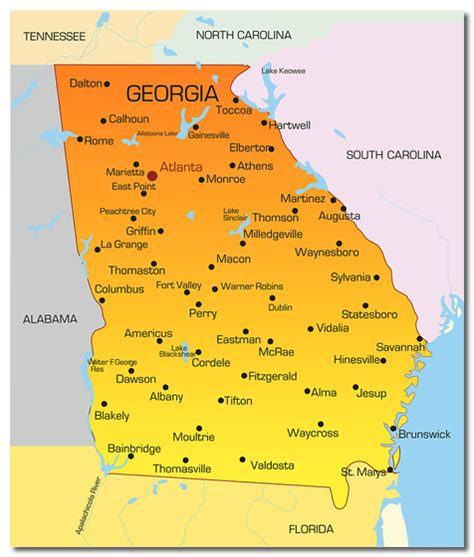 best towns in georgia top gold panning places in the u s