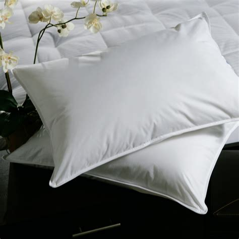 Soft King Size Pillows by King Size 500 Thread Count Firm Filled Goose Pillow