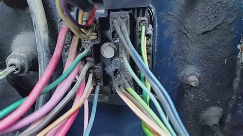 1984 C10 Project Ls Swap Part 7 1 Bulkhead Wiring