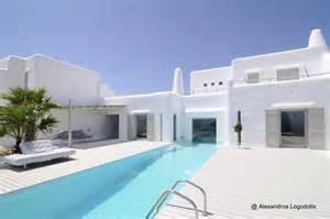 14 fotos de casas modernas mediterr 225 neo en grecia