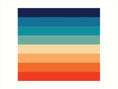 70s color palette quot retro 70s color palette 2 quot prints by caprisuncrip