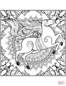 mandala coloring pages horse mandala coloring pages wild horse mandala best free