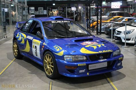 subaru impreza wrc for sale colin mcrae s 1997 subaru impreza wrc is for sale