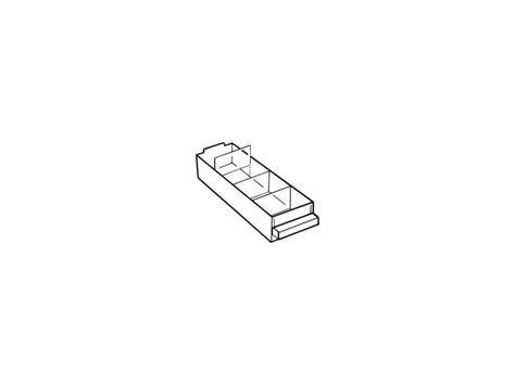 Ersatz Schublade allit ag ersatz schublade typ a klar 1 st 252 ck kaufen