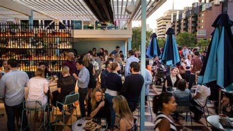 top 10 melbourne bars ten of the best melbourne rooftop bars rooftop at qt the