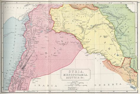 middle east map rome avalanche press