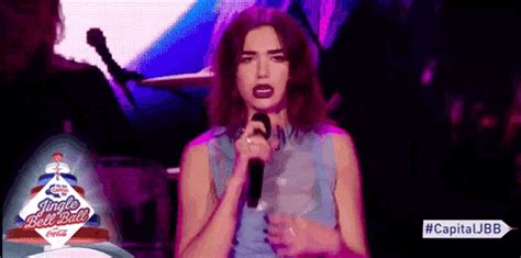 dua lipa dancing gif by capital fm find & share on giphy