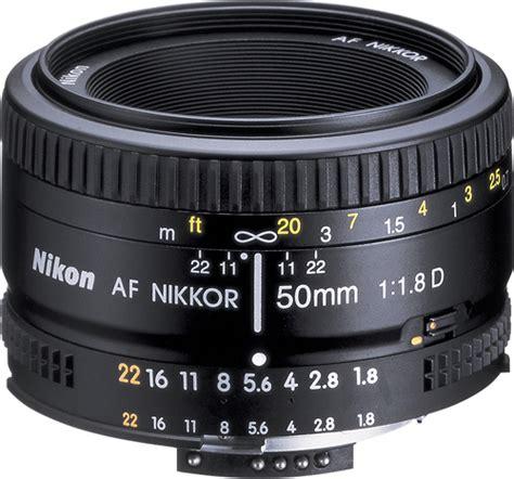 Nikkor Af 50mm F 1 8d nikon af nikkor 50mm f 1 8d standard lens black 2137