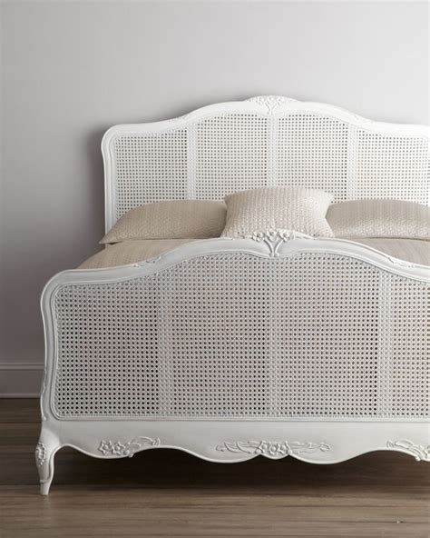 cane beds shabby chic quot elliana quot queen cane bed traditional beds other metro by horchow
