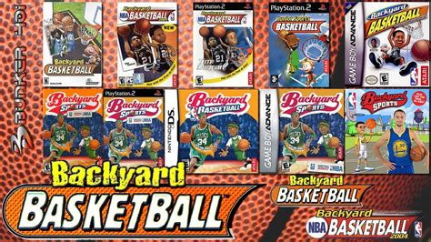 backyard basketball gameplay backyard basketball 2001 pc 2004 gba pc ps2