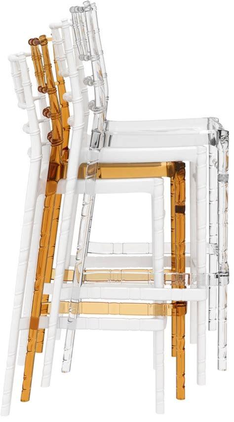 sgabelli impilabili chiavarina 75 sgabelli bar impilabili in policarbonato
