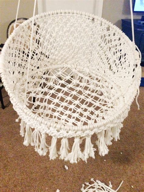 Macrame Crochet Patterns - diy hanging macram 233 chair craft crafty and crochet