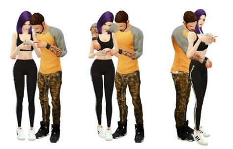 Couples 4 Couples Rinvalee Poses 4 Sims 4 Downloads