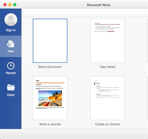 Create Document Template create a new document by using a template in word 2016 for