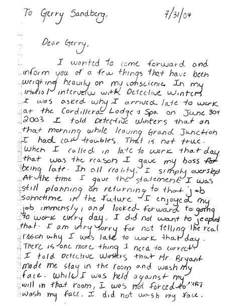 1 Page Apology Letter To Accuser S Apology Letter The Gun